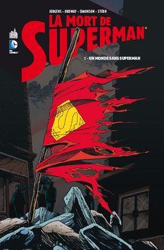 Couverture Un Monde Sans Superman - La Mort de Superman, tome 1