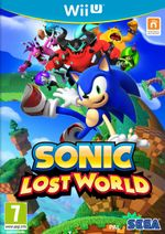 Jaquette Sonic : Lost World