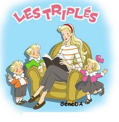 """Résultat de recherche d'images pour """"les triplés"""""""