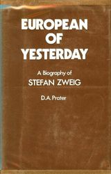 Couverture European of Yesterday: A Biography of Stefan Zweig