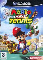 Jaquette Mario Power Tennis