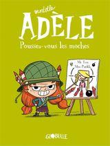 Couverture Poussez-vous les moches - Mortelle Adèle, tome 5
