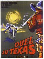 Affiche Duel au Texas
