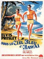 Affiche Sous le ciel bleu de Hawaï