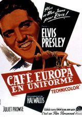Affiche Café Europa en uniforme
