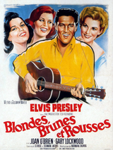 Affiche Blondes, brunes, rousses