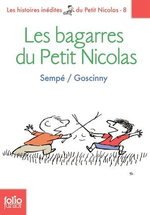 Couverture Les bagarres du Petit Nicolas