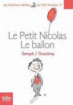 Couverture Le Petit Nicolas : Le ballon