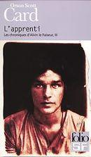 Couverture L'Apprenti - Les Chroniques d'Alvin le Faiseur, tome 3
