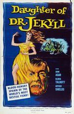Affiche La fille du Docteur Jekyll