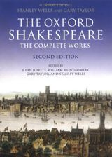 Couverture William Shakespeare: The Complete Works (Oxford Shakespeare)