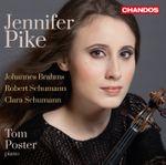 Pochette Brahms: Violin Sonata no. 1 / R. Schumann: Violin Sonata no. 1 / C. Schumann: Three Romances