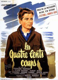 Affiche Les Quatre Cents Coups
