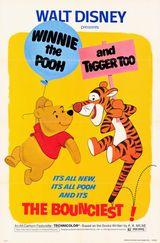 Affiche Winnie l'ourson et le Tigre fou