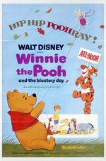 Affiche Winnie l'ourson dans le vent