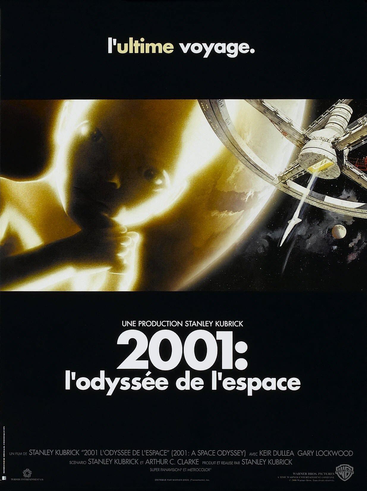 Affiches posters et images de 2001 l 39 odyss e de l 39 espace 1968 - Les sinsin de l espace ...