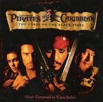 Pochette Pirates of the Caribbean: The Curse of the Black Pearl (OST)