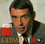 Pochette Intégrale Grand Jacques, Volume 9 : Brel en public : Olympia 64 (Live)