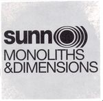 Pochette Monoliths & Dimensions