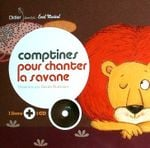 Couverture Comptines pour chanter la savane