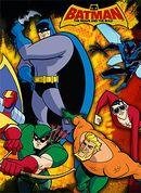 Affiche Batman : L'Alliance des héros