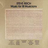 Pochette Music for 18 Musicians
