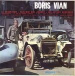 Pochette Boris Vian