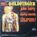 Pochette Goldfinger (OST)