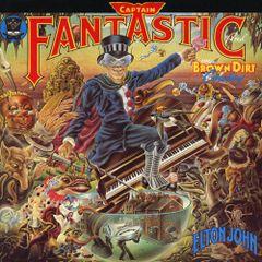Pochette Captain Fantastic and the Brown Dirt Cowboy