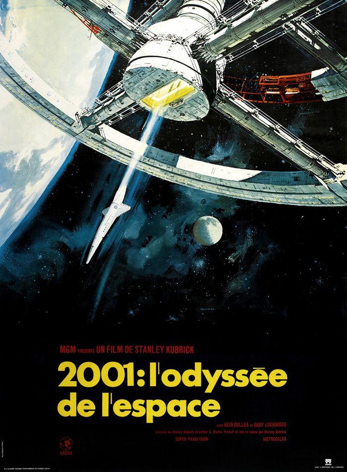 """Résultat de recherche d'images pour """"2001 l'odyssée de l'espace affiche"""""""