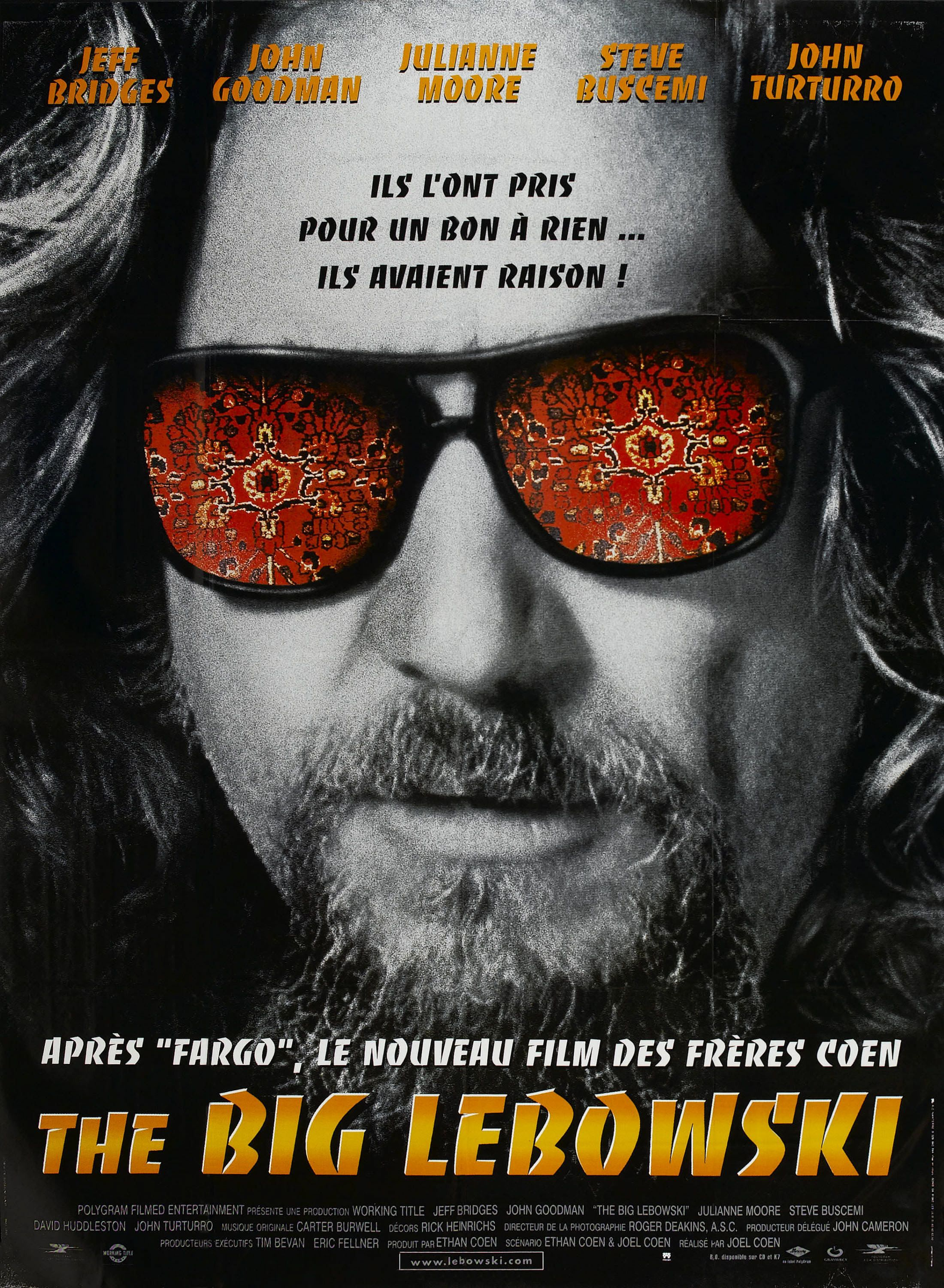 The Big Lebowski - Joel Coen et Ethan Coen - SensCritique