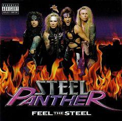 Pochette Feel the Steel