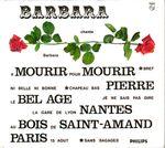 Pochette Barbara chante Barbara