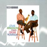 Pochette Louis Armstrong Meets Oscar Peterson