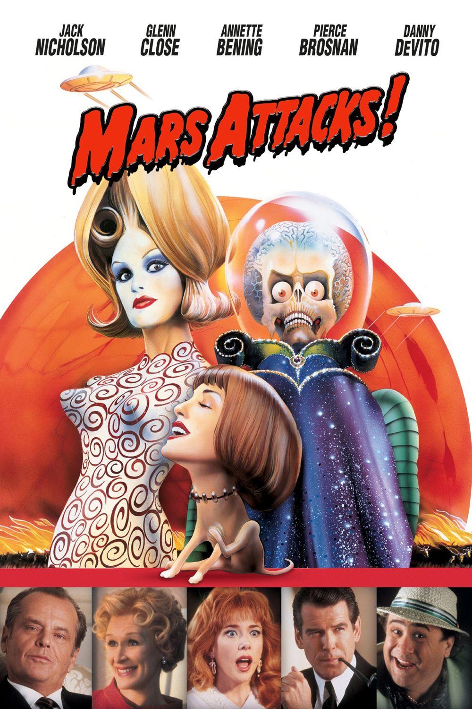 Affiches, posters et images de Mars Attacks ! (1996 ...