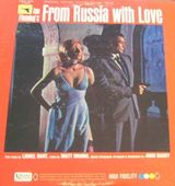 Pochette From Russia With Love (OST)