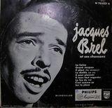 Pochette N°1 : Jacques Brel et ses Chansons