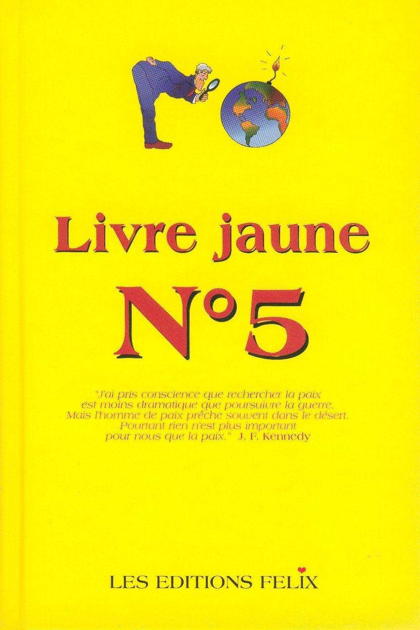 Livre Jaune N 5 Jan Van Helsing Senscritique
