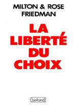 Couverture La Liberté du choix