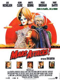 Affiche Mars Attacks !