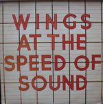 Pochette Wings at the Speed of Sound