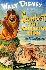 Affiche Lambert le lion peureux