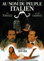 Affiche Au nom du peuple italien
