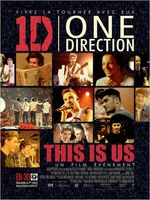 Affiche One Direction : Le Film