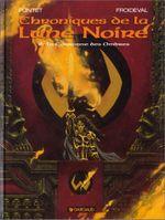 Couverture La Couronne des ombres - Chroniques de la Lune Noire, tome 6