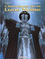 Couverture Le Glaive de justice - Chroniques de la Lune Noire, tome 8