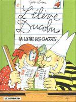 Couverture La Lutte des classes - L'Élève Ducobu, tome 4