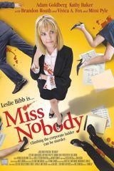 Affiche Miss Nobody