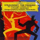 Pochette L'Oiseau de feu / Feu d'artifice / Quatre Etudes pour orchestre