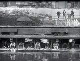 Affiche Laveuses sur la rivière